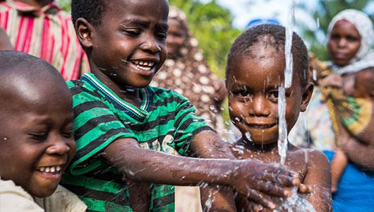 Webpuccino® helpt mensen aan schoon drinkwater.