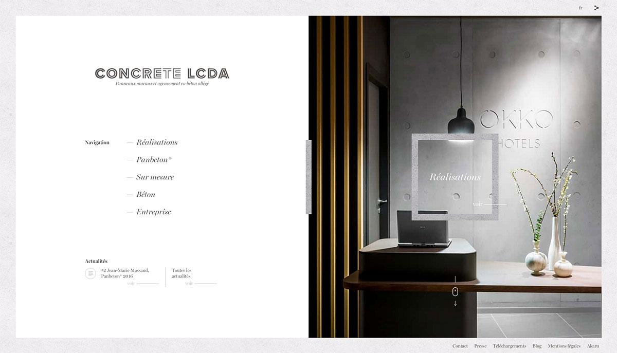 Inspirerend webdesign webpuccino je website beheren alsof je een kop koffie drinkt - Beton door lcda ...